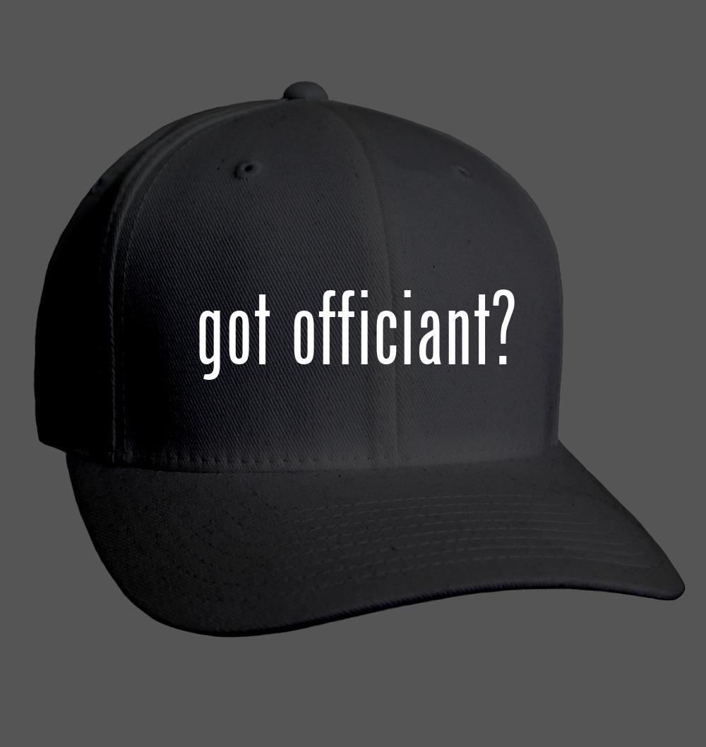 Details about got officiant? - Adult Baseball Cap Hat NEW RARE